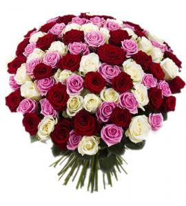Фото Букеты, 101 роза Букет из 101 розы №3