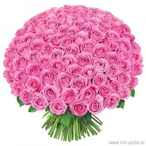 Фото Букеты, 101 роза Букет из 101 розы №5