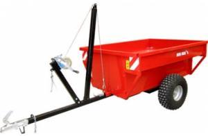 Фото Сельскохозяйственная техника   METAL-FACH, Дополнительное оборудование для Мотовездехода Прицеп