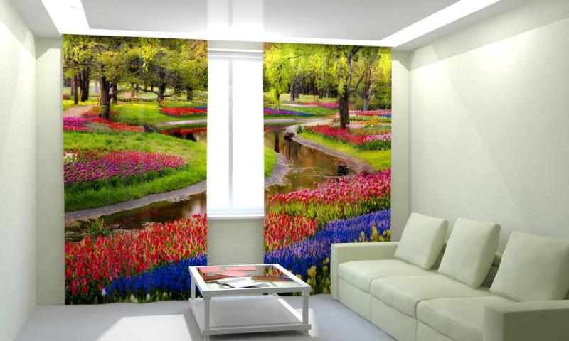 Сад в цветах