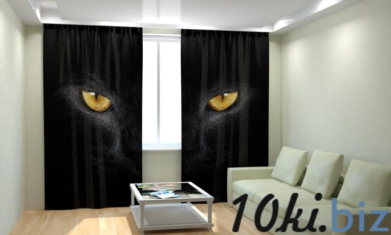 Черный кот Шторы, портьеры в России