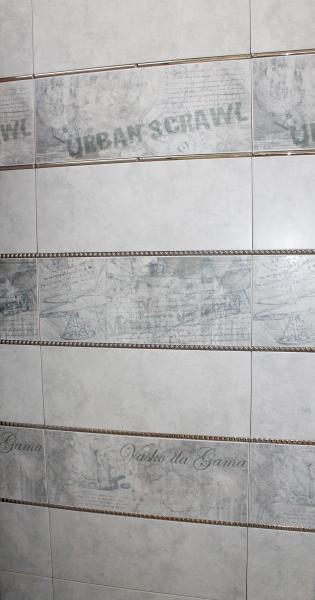 Плитка в ванную «Цементо Гриджио» торговой марки Allore Group