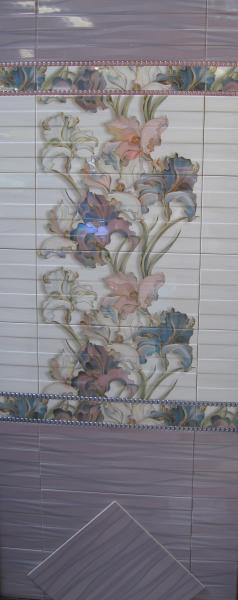 Плитка в ванную BATIK 23х50
