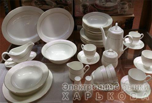 Сервиз чайный Симфония 15 предметов / 6 персон, фарфор - Кофейные и чайные сервизы на рынке Барабашова