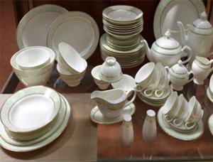 Фото Товары для дома, Посуда Сервиз столовый Verde 12 персон / 53 предмета, фарфор