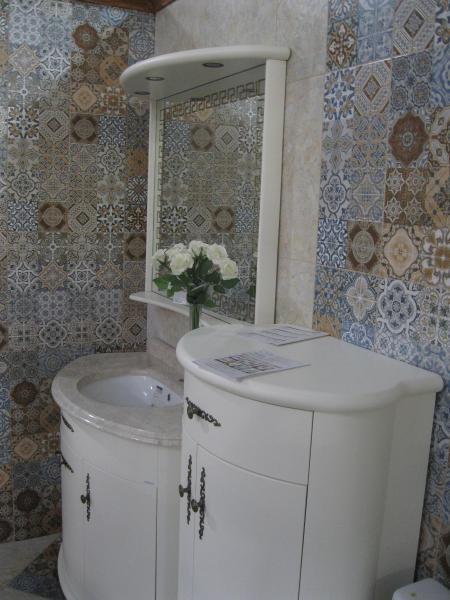Плитка в ванную Провенс 25*50