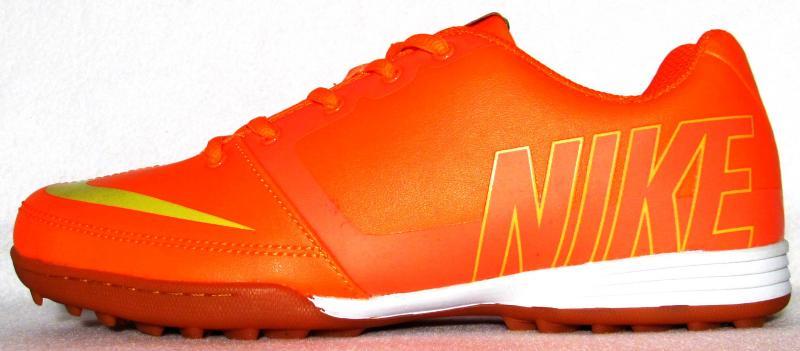 Сороконожки Nike mango оранжевые