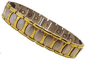 Фото  Титановые магнитные браслеты Магнитный титановый браслет ОЛИВЕР