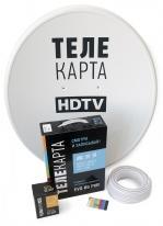 Комплект спутнокового телевидения Континент ТВ