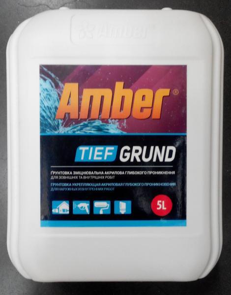 Грунт Tief Grund Amber 5 л