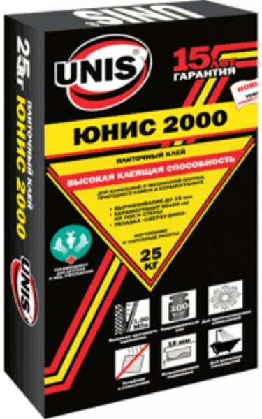 """Клей плиточный """"Юнис-2000"""" 25кг"""