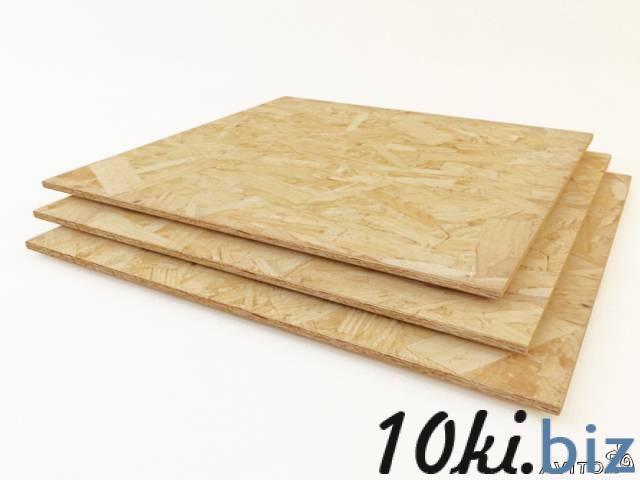OSB-3 (9*1250*2500) купить в Тамбове - Древесно-плитные материалы с ценами и фото