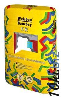 """Полимерная шпатлевка """" Вайсбау KR"""" 20кг купить в Тамбове - Отделочные материалы с ценами и фото"""