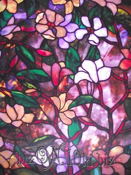 «Магнолия» (Magnolia)  гладкая пленка  0,61*0,91м          (Арт. Т67) витражные плёнки для окон и дверей