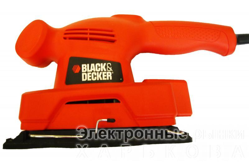 Виброшлифмашина Black&Decker KA300 - Электроинструмент (устар) на рынке Барабашова