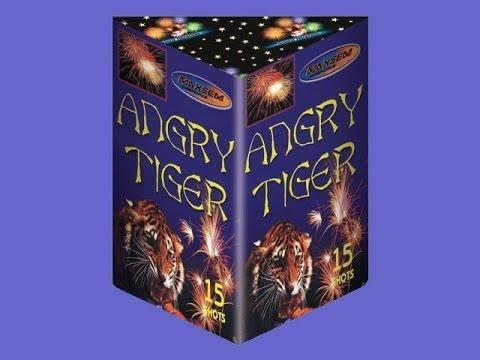 "Фейерверк Салютная установка 15 залпов ""ANGRY TIGER"""
