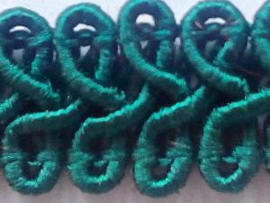 Фото Ленты, тесьма, косая бейка, Тесьма декоративная  1 Изумрудный