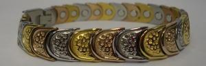 Фото Стальные магнитные браслеты Стальной магнитный браслет АВСТРИЯ-ТРИО