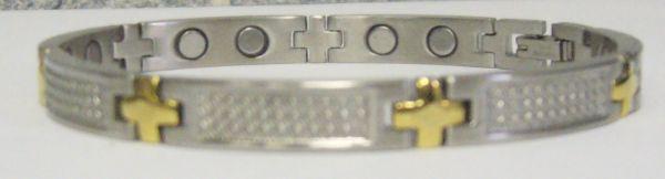 Стальной магнитный браслет ЯНИНА