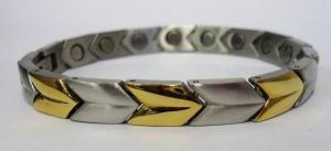Фото Стальные магнитные браслеты Стальной магнитный браслет ЛАУРА