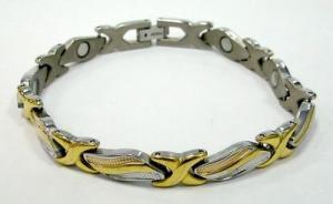 Фото  Титановые магнитные браслеты Магнитный титановый браслет ГАЛАТЕЯ