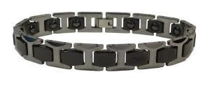 Фото Вольфрамовые магнитные браслеты Магнитный вольфрамовый браслет МОНТЕРЕЙ