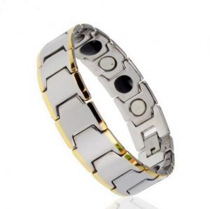 Фото Вольфрамовые магнитные браслеты Магнитный вольфрамовый браслет  МАЭСТРО