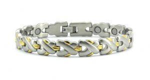 Фото  Титановые магнитные браслеты Магнитный титановый браслет КАССАНДРА