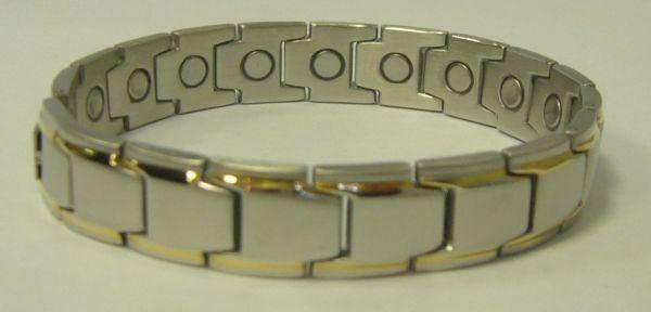 стальной магнитный браслет ЭДВАРД