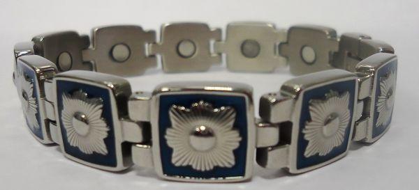 Стальной  магнитный браслет АДМИРАЛ