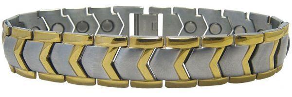 Магнитный титановый браслет МИЛАН