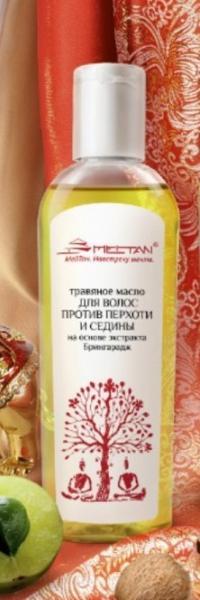 AY-22 Травяное масло от перхоти и седины на основе экстракта Брингарадж