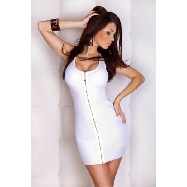 Платье со змейкой