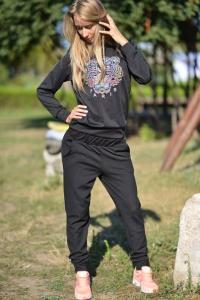Фото Брюки, лосины Спортивные брюки черные