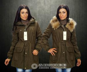 Фото Куртки, пальто, жилетки 2014-15 Женская парка