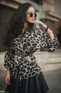 Фото Блузы,футболки,майки леопардовая рубашечка из нежного шифона
