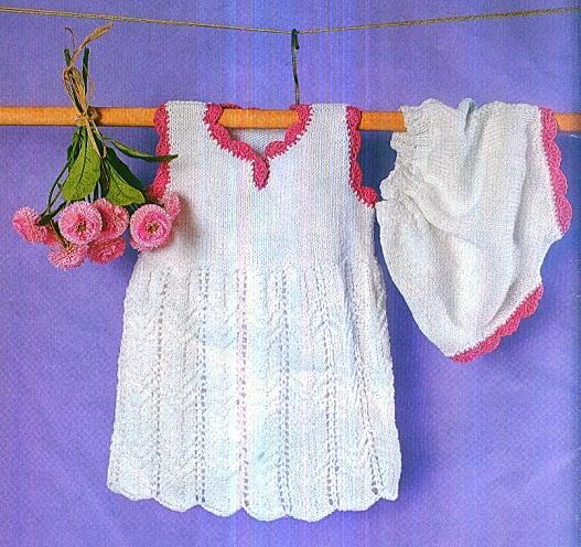 Комплект платье + шорты, р. 56-62