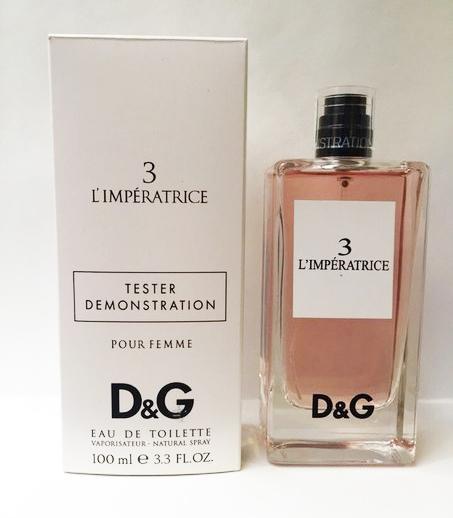 Тестер Dolce & Gabbana 3 L'Imperatrice EDT 100 ml