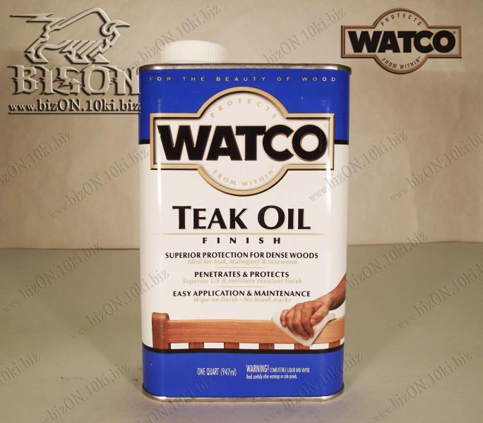 Тиковое масло для дерева   «WATCO»     Teak Oil Finish,    947ml,         (Арт. Т98)