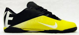 Фото БАМПЫ Бампы Nike Hypervenom черно-желтые