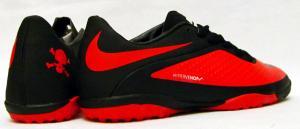 Фото СОРОКОНОЖКИ Сороконожки Nike Hypervenom черно-красные