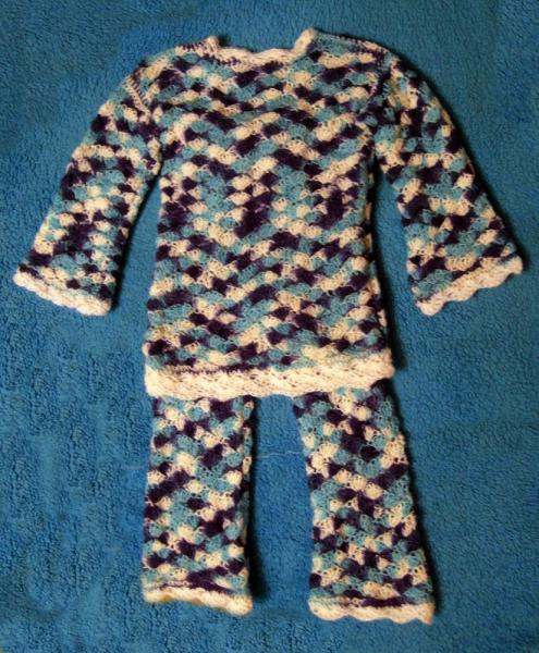 Комплект штаны и свитер
