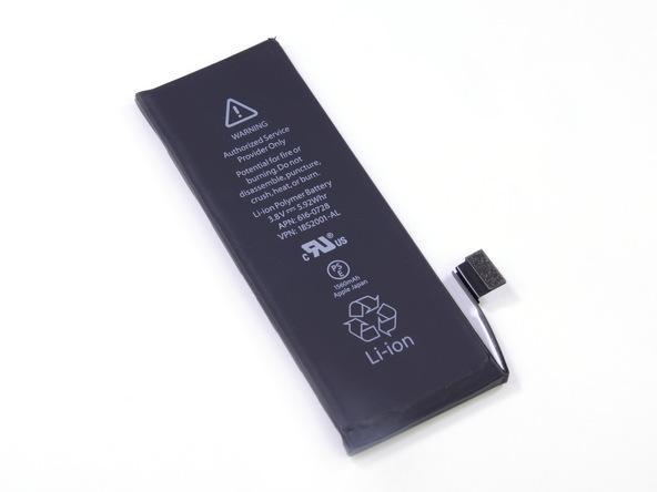 Батарея для мобильного телефона Apple iPhone 5S, (Li-Polymer 3.8V 1560mAh), #616-0720