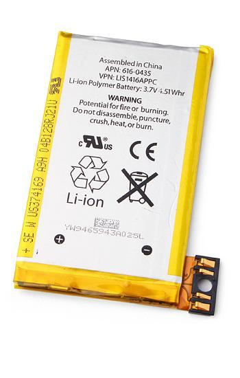 Аккумулятор для мобильного телефона Apple iPhone 3GS, (Li-ion 3.7V 1220мАч)