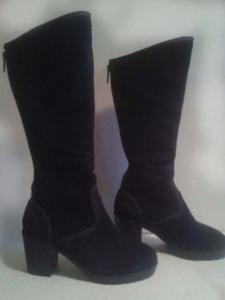 Фото женская обувь, сапоги сапоги