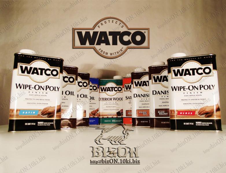 Фото Защитные покрытия для деревянных поверхностей  «WATCO» Датское финишное масло для обработки дерева   «WATCO»     Danish Oil Finish,       Black Walnut (Черный орех),    947ml,          (Арт. Т102)