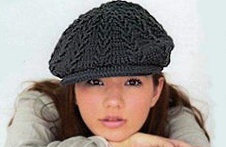 Вязаная кепка