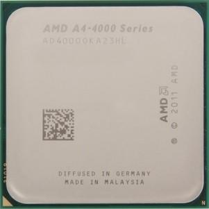 Процессор S-FM2 AMD A4 5300 (3,4 GHz, HD7480D, 1Mb L2, Trinity, 32nm, 65W), oem