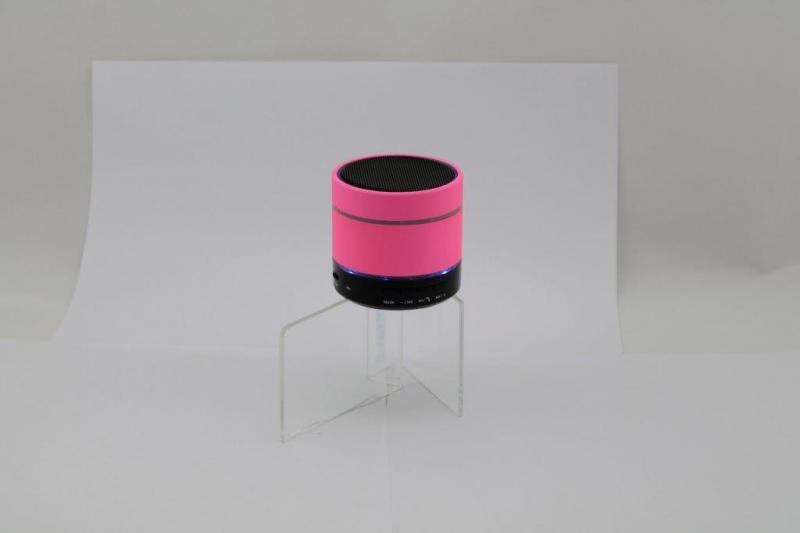 MP3 колонка S08U-L Bluetooth розовая