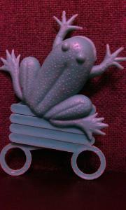 Фото антиквар, Игрушки Лягушка попрыгушка